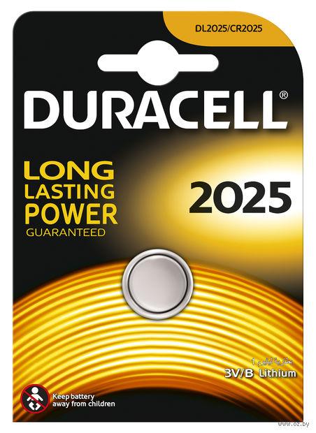 Батарейка DURACELL литиевая для электронных приборов 2025
