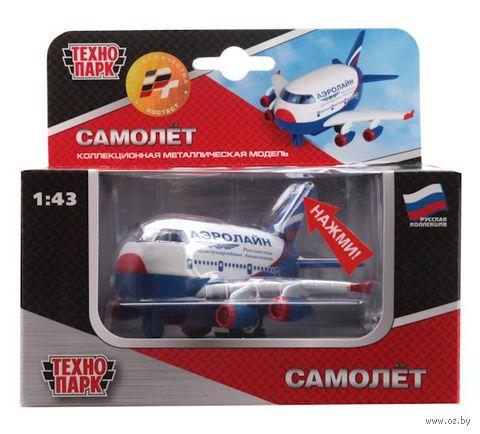 """Модель самолета """"Аэролайн"""" (масштаб: 1/43)"""