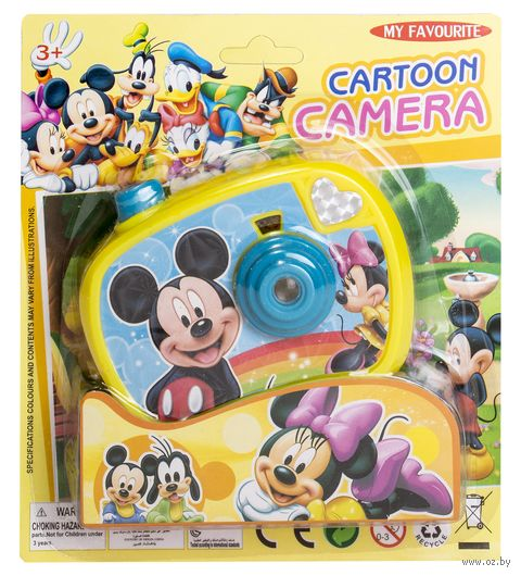"Игрушка ""Фотоаппарат. Микки Маус"" (арт. 588-C3) — фото, картинка"
