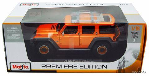 """Модель машины """"Jeep Rescue Concept"""" (масштаб: 1/18) — фото, картинка"""