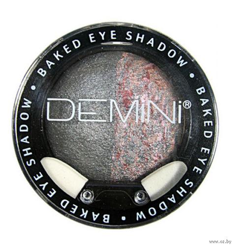 """Тени для век """"Baked Eye Shadow"""" тон: 10, космический черный — фото, картинка"""