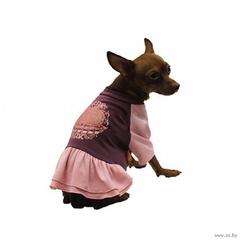 """Платье """"Pink"""" (30 см; фиолетовое) — фото, картинка"""