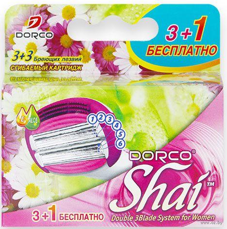 "Кассеты для станка ""Shai Sweetie"" (4 шт.) — фото, картинка"