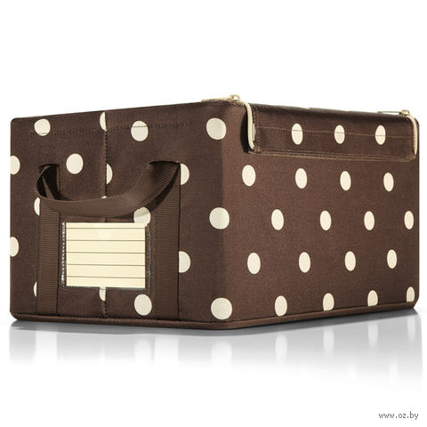 "Коробка для хранения ""Storagebox"" (S, mocha dots)"
