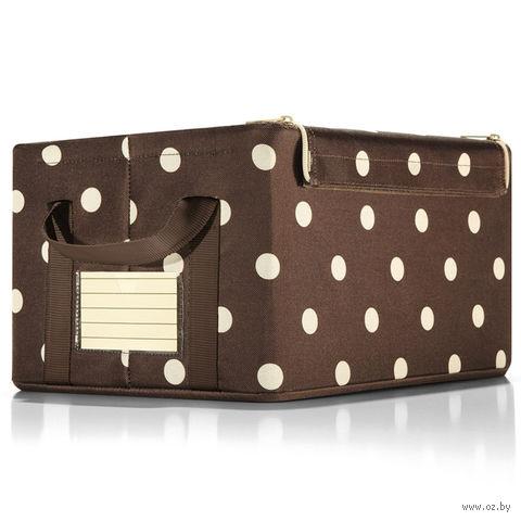"Коробка для хранения ""Storagebox"" (S; mocha dots)"