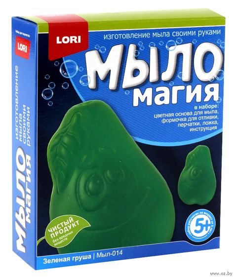 """Набор для изготовления мыла """"Зеленая груша"""" — фото, картинка"""