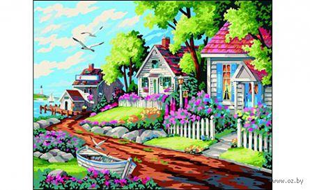 """Картина по номерам """"Яркий пейзаж"""" (400x500 мм) — фото, картинка"""