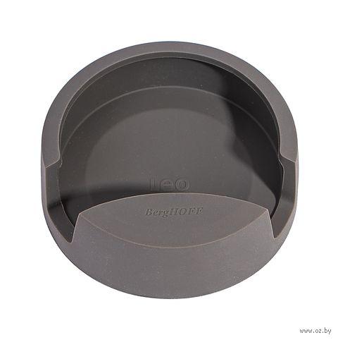 Подставка для ложки силиконовая (серая) — фото, картинка