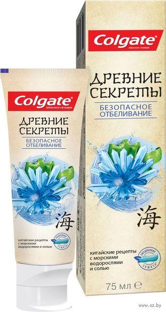 "Зубная паста ""Безопасное отбеливание"" (75 мл) — фото, картинка"