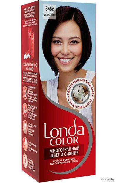"Крем-краска для волос ""LondaColor"" (тон: 52, баклажан)"
