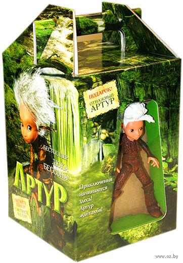 """Артур. Подарочный комплект + игрушка """"Артур"""". Люк Бессон"""
