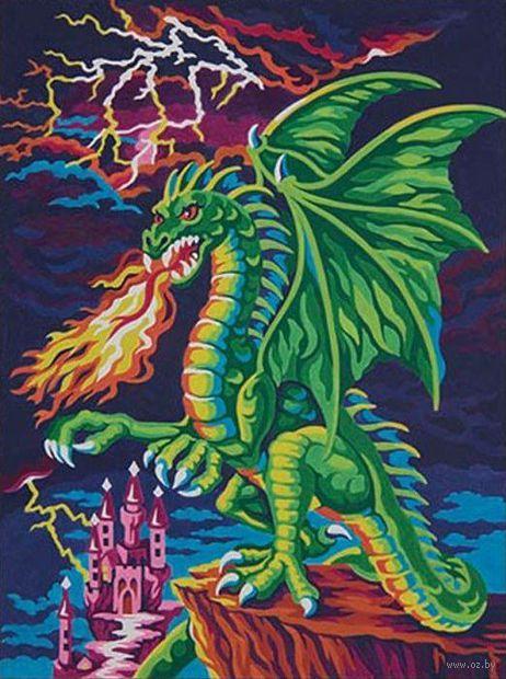 "Картина по номерам ""Логово дракона"" (310х230 мм; арт. DMS-73-91479)"