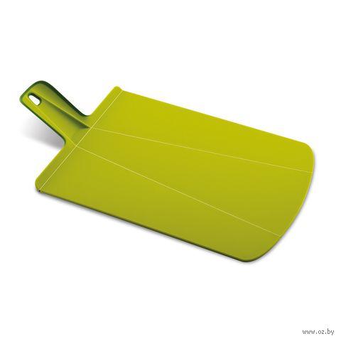 "Доска-трансформер разделочная ""Chop2Pot Plus"" (480х270х15 мм; зеленая)"