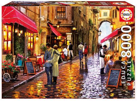 """Пазл """"Уличное кафе"""" (8000 элементов) — фото, картинка"""