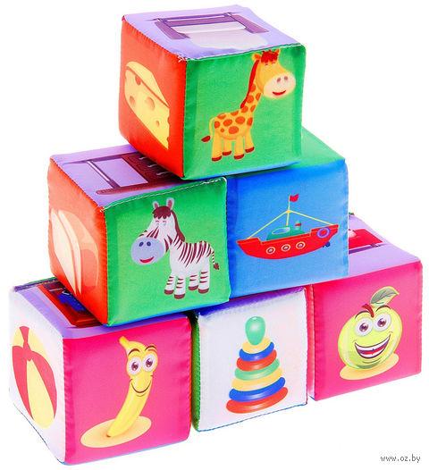 "Кубики ""Предметы"" (6 шт.) — фото, картинка"