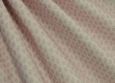 """Ткань """"Разноцветный горошек и завитушки"""" №48 — фото, картинка"""