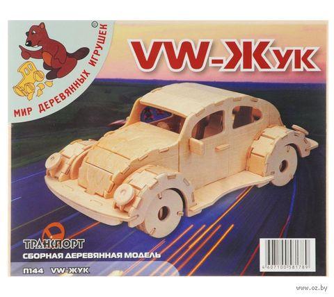 """Сборная деревянная модель """"Фольксваген Жук"""" (арт. П144 ) — фото, картинка"""