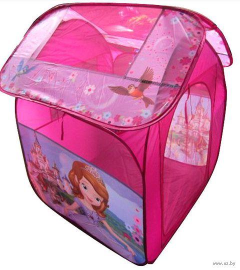 """Детская игровая палатка """"Уютный домик"""" (в сумке; арт. GFA-SOFIA-R)"""