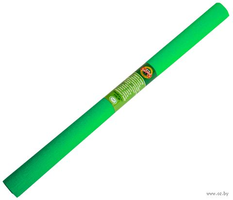 Бумага креповая (50х200 см; зеленая) — фото, картинка