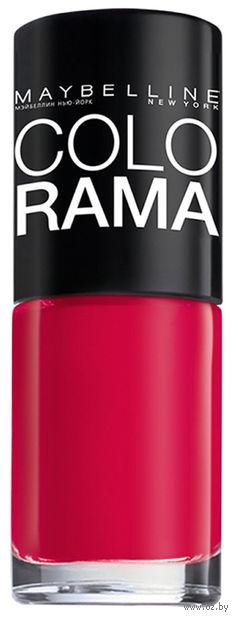 """Лак для ногтей """"Colorama"""" (тон: 318, огненный розовый)"""