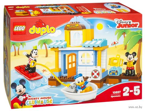"LEGO Duplo ""Микки и друзья. Домик на пляже"""