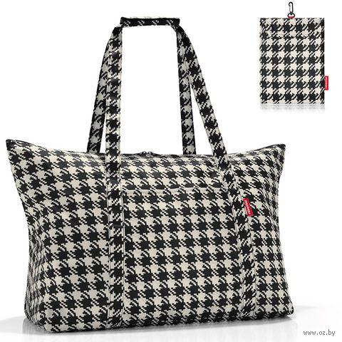 "Сумка складная ""Mini maxi travelbag"" (fifties black)"