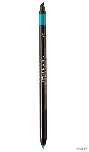 """Карандаш для глаз """"Twist and Write Waterproof Eye Pencil"""" водостойкий (тон: 04) — фото, картинка"""