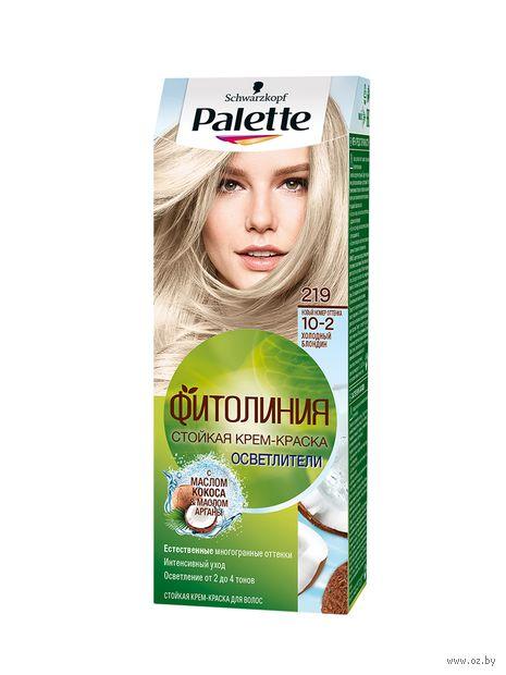 """Крем-краска для волос """"Фитолиния"""" тон: 219, холодный блондин — фото, картинка"""