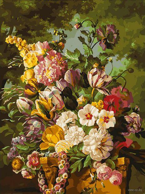 "Картина по номерам ""Букет в саду"" (300х400 мм) — фото, картинка"