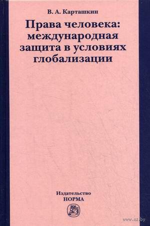 Права человека. Международная защита в условиях глобализации. Владимир Карташкин