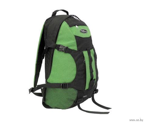 """Рюкзак """"Скаут-30"""" (черный/темно-зеленый)"""