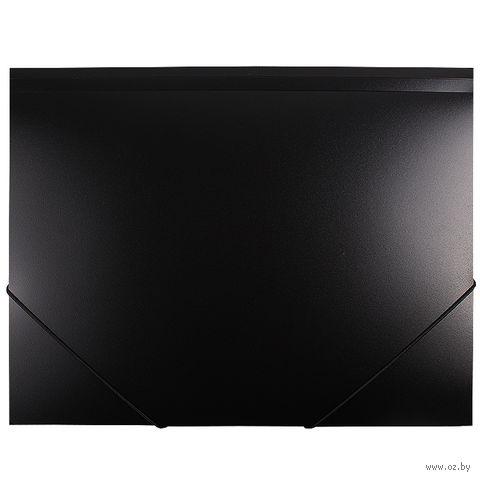 """Папка на резинке """"Darvish"""" (А4; черная; арт. DV055R)"""