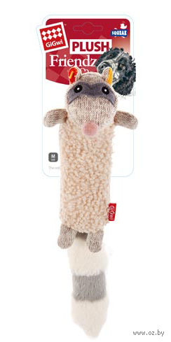 "Игрушка для собак ""Енот"" (17 см) — фото, картинка"