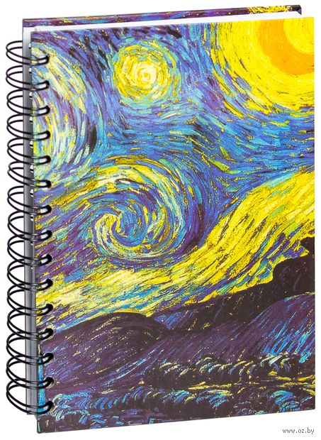 "Скетчбук ""Ван Гог. Звездная ночь"" (А5) — фото, картинка"