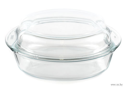 Кастрюля стеклянная круглая (2,5 л; арт. 6926-6936) — фото, картинка