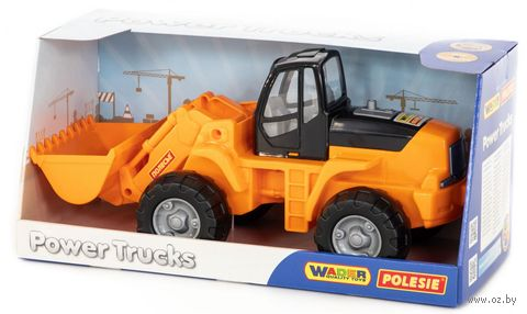 Трактор-погрузчик (арт. 9661) — фото, картинка