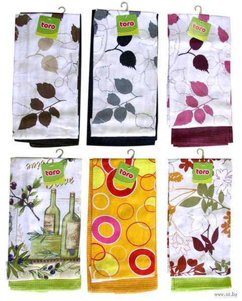 Набор полотенец текстильных (2 шт.; 380x630 мм) — фото, картинка