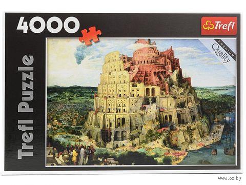 """Пазл """"Вавилонская Башня"""" (4000 элементов)"""