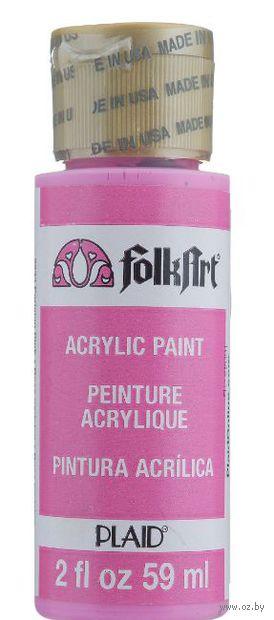 "Краска акриловая ""FolkArt. Acrylic Paint"" (розовый Париж; 59 мл; арт. PLD-02233) — фото, картинка"