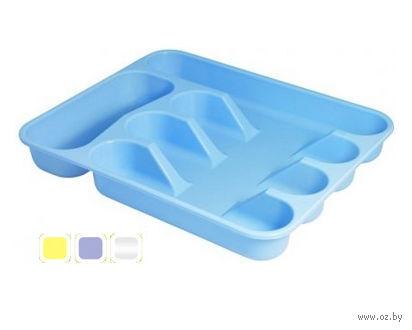 """Лоток для столовых приборов пластмассовый """"Селеста"""" (34х29 см; арт. С409)"""