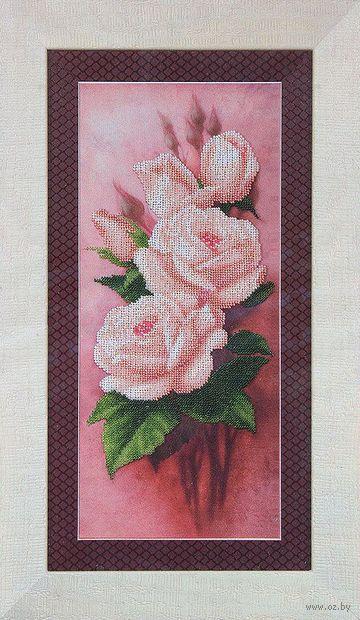 """Вышивка бисером """"Чайные розы"""""""