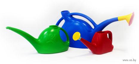 Лейка пластмассовая с рассеивателем (3 л) — фото, картинка