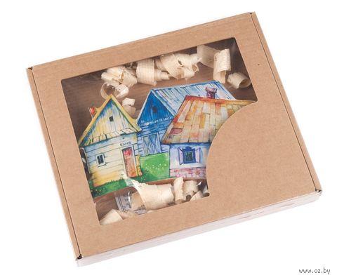 Вешалка для ключей деревянная (180х100 мм) — фото, картинка