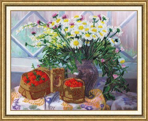 """Вышивка бисером """"Первый урожай"""" (252х320 мм) — фото, картинка"""