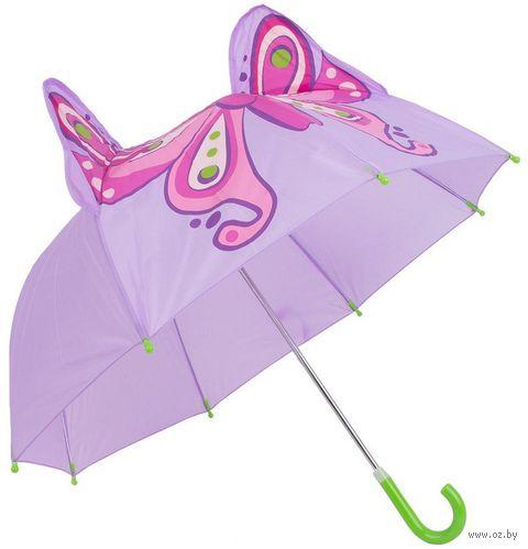 """Зонт-трость """"Бабочка"""" — фото, картинка"""