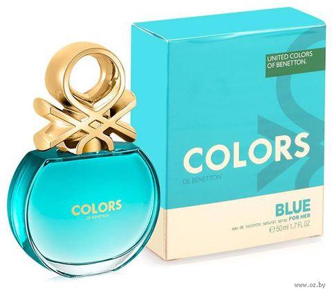 """Туалетная вода для женщин """"Blue"""" (50 мл) — фото, картинка"""