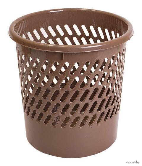 Ведро для мусора пластмассовое (260х260х270 мм) — фото, картинка