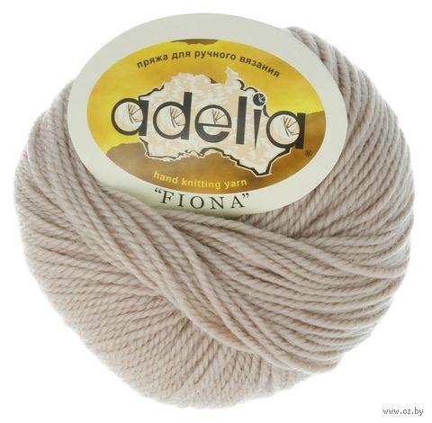"Пряжа ""Adelia. Fiona №500"" (50 г; 90 м; бежевый) — фото, картинка"