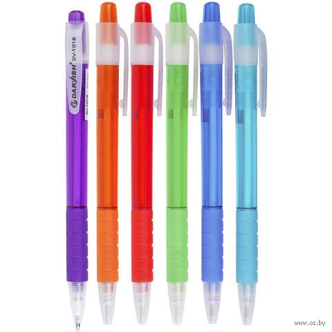 """Ручка шариковая синяя """"Darvish"""" (0,7 мм; арт. DV-1016; в ассортименте)"""