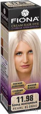 """Крем-краска для волос """"Fiona"""" (тон: 11.98, жемчужный блонд)"""